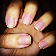 DIY manicure of the week: squeaky clean | Champagne taste on a beer budget