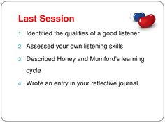 Level II Counselling Skills Session 3