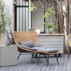 Outdoor Chairs, Outdoor Furniture, Outdoor Decor, Interior, Room, Home Decor, Garden, Flowers, Bedroom