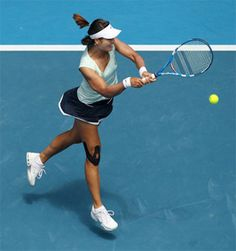 Li Na who became the first ever Chinese or Asian player to win a Grand Slam Title wearing SpiderTech