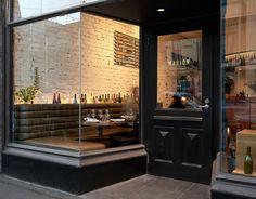 Marion Wine Bar (Fitzroy, Victoria) by IF Architecture Wine Bar Restaurant, Restaurant Design, Melbourne Architecture, Interior Architecture, Cafe Interior, Interior Design, Bar Deco, Shop Interiors, Cafe Bar