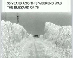 1978......hell of a snowbank....