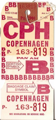 Pan Am - CPH Copenhagen
