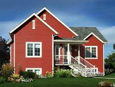 Un #bungalow économique très populaire! http://www.dessinsdrummond.com/detail-plan-de-maison/info/1000033.html (plan no. 2133)
