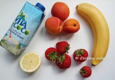 COOKING JULIA: SMOOTHIE COCO-FRAISE-ABRICOT