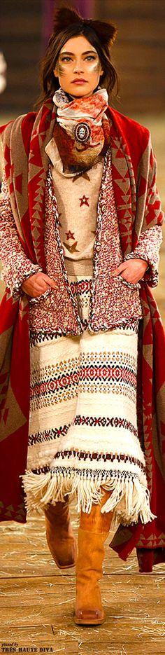 Fashion as decor inspiration. Chanel Pre-Fall 2014 Dallas www.vogue.com/...