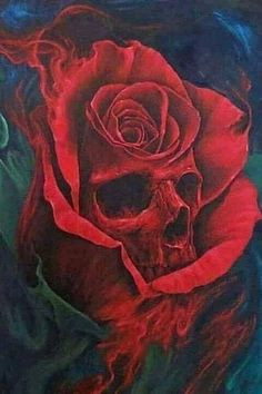 Skull tattoos are loved and practiced with regard to their traditional symbolic meanings or their manifestation of the incredible side aroun. Skull Rose Tattoos, Skeleton Tattoos, Body Art Tattoos, Sleeve Tattoos, Skeleton Art, Butterfly Tattoos, Foot Tattoos, Flower Tattoos, Skull Tattoo Design