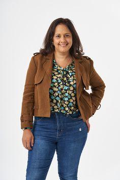 Suraya Jacket - Anna 26 Work Wardrobe, Capsule Wardrobe, Sew Over It, Pdf Sewing Patterns, Bomber Jacket, Ruffle Blouse, Feminine, Stylish, Casual