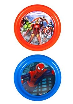 Initiative 4 Piece Mealtime Dinnerware-plate,bowl,fork,spoon Marvel Spiderman Buy One Give One Feeding