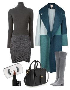 """""""Sans titre #5704"""" by youngx ❤ liked on Polyvore featuring P.A.R.O.S.H., Étoile Isabel Marant, Roksanda, Gianvito Rossi, MAC Cosmetics, Burberry and NARS Cosmetics"""