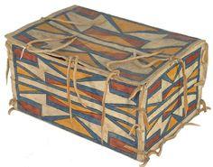 Ute Parfleche Box