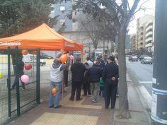 Ciudadanos Alcañiz se presenta a los Alcañizanos, que tienen una oportunidad de escuchar el Mensaje de Ciudadanos.   Somos tu voz, acércate a visitarnos, cuéntanos tus inquietudes.  Avenida de Aragón (Solar de los Sindicatos) Sábado 14 de Febrero de 2015.