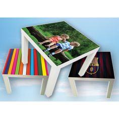 nyt liv til dit ikea lack bord med beklædning fra www.upps.dk Brug dine egne billeder eller mønstre, eller vælg fra vores store galleri