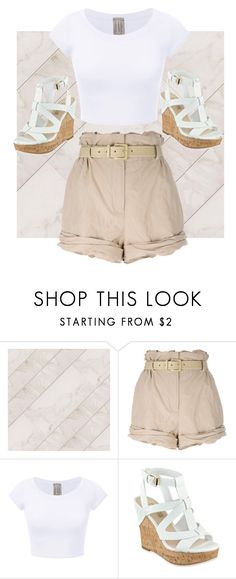 """""""Untitled #79"""" by axivq on Polyvore featuring Moschino and GUESS"""