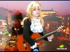 """Flamboyant virtuoso Galina Vale playing live on Spanish TV . """"left hand solo"""" not on electric but on acoustic guitar, amazing, I have never have heard this technique before. Best Acoustic Guitar, Acoustic Guitar Lessons, Guitar Diy, Guitar Solo, Acoustic Guitars, Bass, Guitar Youtube, Female Guitarist, Classical Guitar"""
