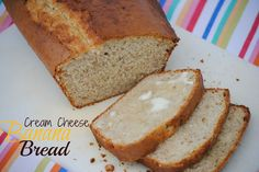 The Farm Girl Recipes: Cream Cheese Banana Bread. I (Jordan) tried this today and loved it! Bread Machine Banana Bread, Best Banana Bread, Cheesecake Recipes, Dessert Recipes, Desserts, Fun Recipes, Yummy Eats, Yummy Food, Cream Cheese Bread