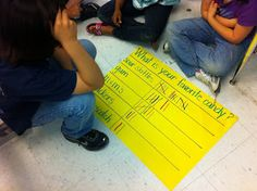 Once Upon A Teaching Blog: Graphing With First Grade