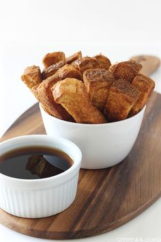 Looking for Fast & Easy Breakfast Recipes! Recipechart has over free recipes for you to browse. Find more recipes like Cinnamon French Toast Sticks. Crepes, French Toast Sticks, Food Porn, Cinnamon French Toast, Biscuits, Dessert Recipes, Desserts, Brunch Recipes, Morning Food