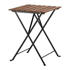 folding table - use for diffuser/PSK display, put banners on them, or use as extra area to fill order, work with clients  TÄRNÖ Table, outdoor - IKEA $19.99
