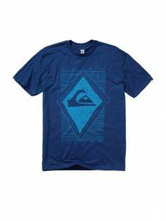 Camiseta Quiksilver Men s Hallowed T-Shirt Twilight Blue  Camiseta   Quiksilver Febrero 157564a010b
