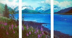 Turnagain Trio Triptych - Charles Gause  http://www.gausefineart.com/images/aatrio.jpg
