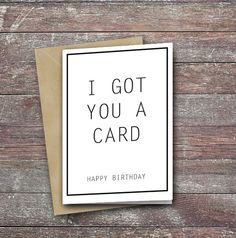 Top birthday card funny message by ThInkMedia on Etsy