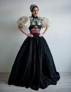 The Opera Ball 2017 Tamara Šimončíková Heribanová-original dress Očová