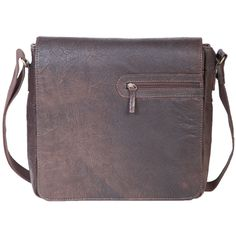 Neat phone pocket on the front flap. And a nice patina on the leather - you can almost feel it.