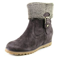 Tommy Hilfiger Soffia Women Suede Brown Ankle Boot