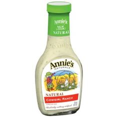 """Annie's """"cowgirl ranch"""" dressing is soy-free.  I get this at our local grocery store; it's also available at Walmart."""