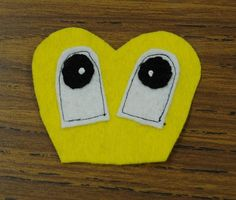 Eyes for both NoMo and Phoenix need black stitching and white dot.