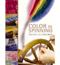 Color in Spinning by Deb Menz