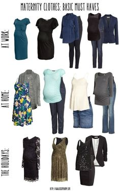 Maternity Clothes: Basic Must Haves - Kiss My Tulle - Kiss My Tulle // Traveling with Babies and Kids - Motherhood Maternity Capsule Wardrobe, Pregnancy Wardrobe, Pregnancy Outfits, Mom Outfits, Cute Outfits, Fashion Outfits, Breastfeeding Outfits, Pregnancy Must Haves, Pregnancy Style