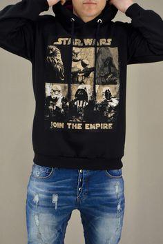 Ανδρικό φούτερ Join The Empire   Φούτερ - Sport & Αθλητικά -