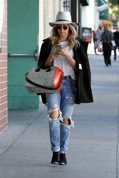 Ashley Tisdale Photos - Ashley Tisdale Takes a Stroll - Zimbio