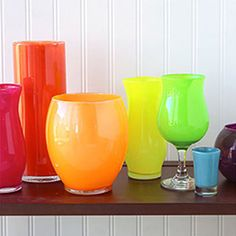 Shop at Dollar Tree – Here's What You'll Need:  Glass Vases, Jars, or Other Open-Mouth Containers Two or Three .44-oz. Bottles of Nail Polish per Container Rubbing Alcohol or Glass Cleaner Paper Towels Nail Polish Remover