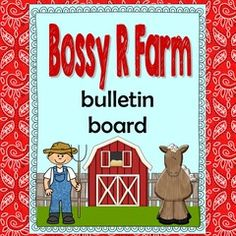 Bossy R Farm Bulletin Board! Enter for your chance to win 1 of 5. R-Controlled Vowel Farm Theme Bulletin Board Display:Bossy R Farm  (30 pages) from Wise Owl Factory on TeachersNotebook.com (Ends on on 10-28-2016) Bossy R Farm Bulletin Board.