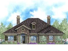 Plan WG  Attractive in Stone   Mountain House Plans  Mountain    Plan ZR  Private Master Retreat  amp  Options