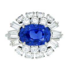 CARTIER Paris | Sapphire Diamond Ring