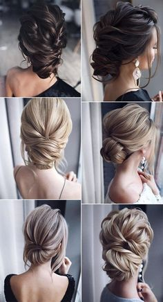26 gorgeous updo wedding hairstyles from tonyastylist page 2 of 2 oh best day ever day gorgeous hairstyles page tonyastylist updo wedding hochsteckfrisuren hochzeit frisur ideen Bride Hairstyles, Curled Hairstyles, Amazing Hairstyles, Hairstyle Ideas, Bangs Hairstyle, Trendy Hairstyles, Classy Updo Hairstyles, Hairstyles Pictures, Wedding Hair And Makeup