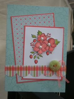 Stampin' Up! SU by Jo Hooper, The Crafty Crafter