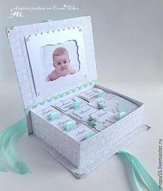 """Подарки для новорожденных, ручной работы. Мамины сокровища """"Облачная нежность"""". Открытки ручной работы  Елены Шопа. Ярмарка Мастеров."""