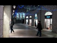 The City Of Jerusalem December 15, 2011 Mamilla Mall With Artist, Ofer MizraChi #Israel #Jerusalem #OferMizraChi #KimCarson