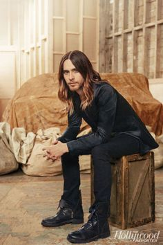 "JARED LETO = yummy!  I've been in love with him since ""my so called life"" as…"