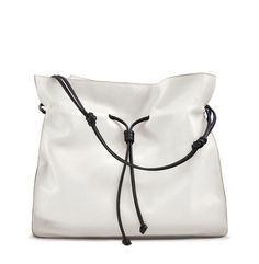 Check out the The Shopper in Off White and Black  from von Holzhausen