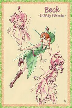 Disney Fairies: Beck Artwork by haki82