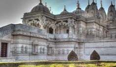 baps shri swaminarayan mandir, neasden temple, london, england, храм шри сваминараян мандир, лондон, англия, храм
