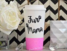 Fur Mama Mug, Fur Mom Mug, Fur Babies, Dog Mom Mug, Best Dog Mom, Cat Mom Mug, Dog Lover Gift, Cat Lover Gift, I Love My Dog, Glitter Mug by LoveInTheCityShop on Etsy https://www.etsy.com/listing/236345828/fur-mama-mug-fur-mom-mug-fur-babies-dog