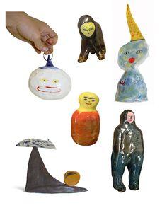 Ceramic Clay, Ceramic Pottery, Contemporary Ceramics, Clay Creations, Sculpture Art, Ceramic Sculptures, Clay Art, Art Inspo, Collage Art