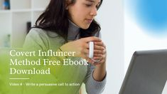 Covert Influencer Method Free Download - Video 4 Video 4, Call To Action, Download Video, Free Ebooks, Bro, Writing, Youtube, Being A Writer, Youtubers